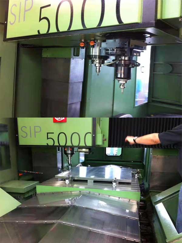 瑞士二手双主轴SIP5000坐标磨床,行程1600x1200